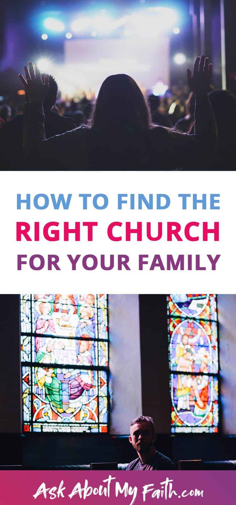 How to Find a Church that Works for You