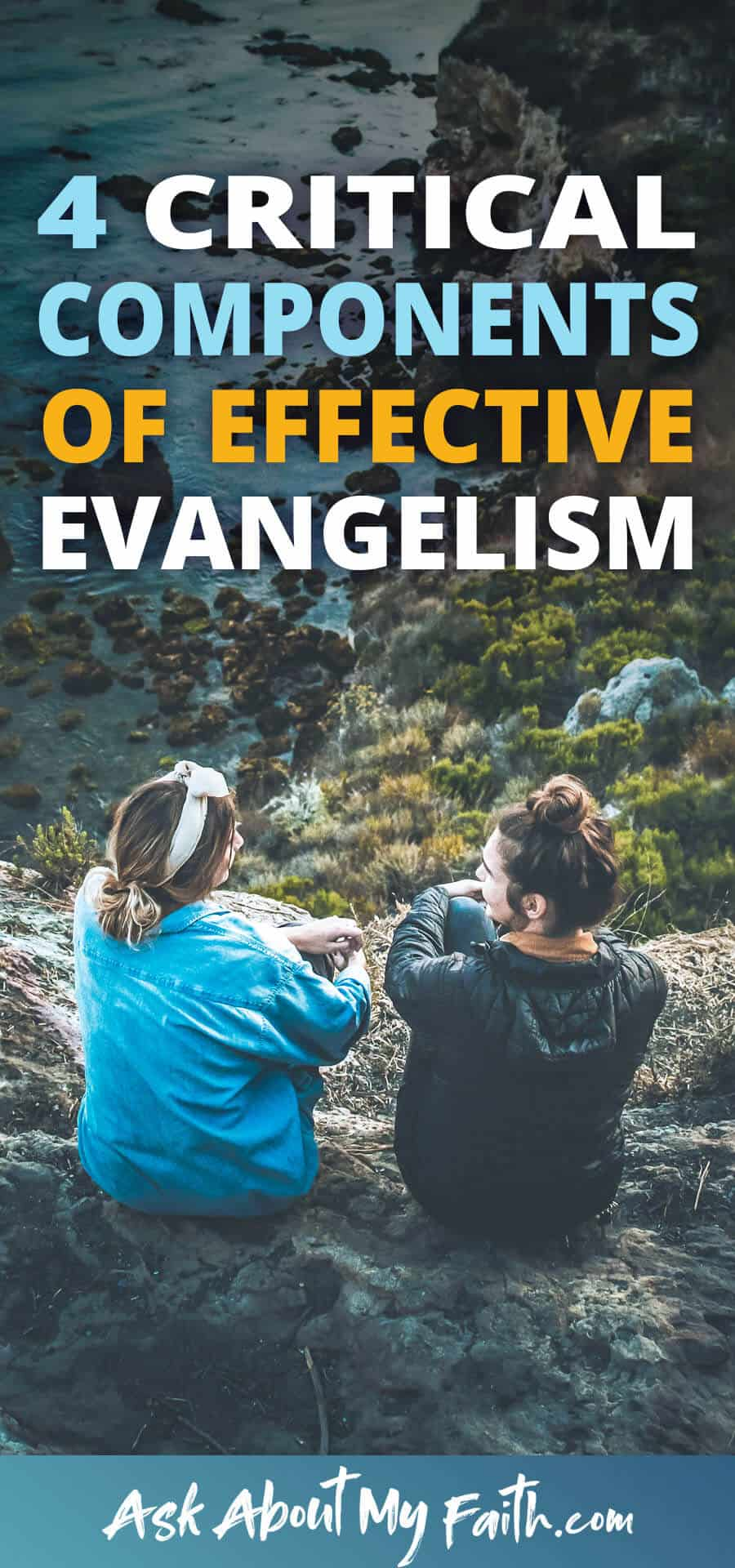 4 Critical Components of Effective Evangelism | 4 Crucial Tips for Sharing the Gospel | 3 Things to Look for (and 1 to avoid) | Evangelism Tips and Resources | Christian Faith